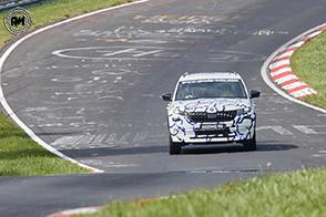 Ultime fasi di test al Nurburgring per la futura Skoda Kodiaq RS