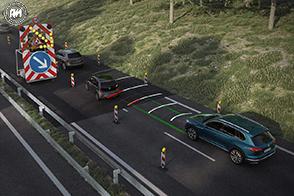 Traffic Jam ed è l'ultima diavoleria elettronica presente sulla nuova Volkswagen Touareg
