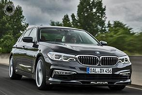Cavalli, trazione ed allestimento per la nuova BMW Alpine D5 S