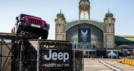 Jeep Harley Davidson a pragae