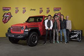 Jeep Wrangler sponsor del tour Rolling Stones a Varsavia