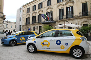CS- 4USMOBILE E RENAULT: IN SALENTO IL CAR-SHARING DIVENTA REALT