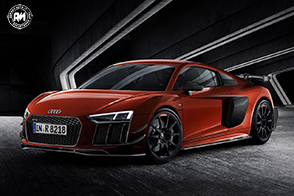 Carbonio e titanio per l'Audi Sport Performance Parts R8 Edition