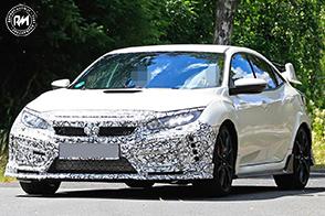 Un nuovo telaio per la futura Honda Civic Type R 2019
