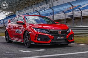 Nuovo record sul circuito dell'Estoril per la Honda Civic Type R