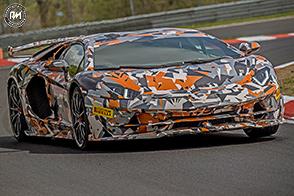 Record al Nurburgring per la nuova Lamborghini Aventador SVJ