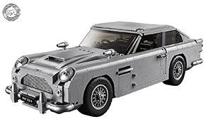 """1295 mattoncini per la nuova Lego Aston Martin DB5 """"007"""""""