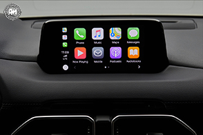 Mazda supporta i sistemi Apple CarPlay ed Android Auto
