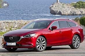 Raffinatezza e tecnologia per la nuova Mazda6