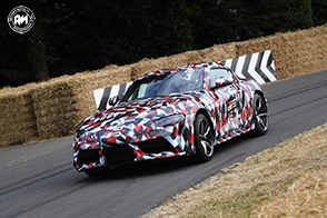 Motore V6 turbocompresso per la nuova Toyota Supra