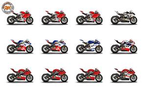 All'asta su eBay le dodici Panigale V4 della Race of Champions