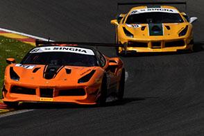GT CUP – Tre vittorie per Ferrari a Snetterton