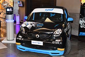 smart EQ fortwo e-cup alla Milano Rally Show
