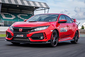 Three in three for Type R: British Touring Car champion, Matt Ne