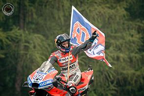 Andrea Dovizioso conquista la vittoria a Brno