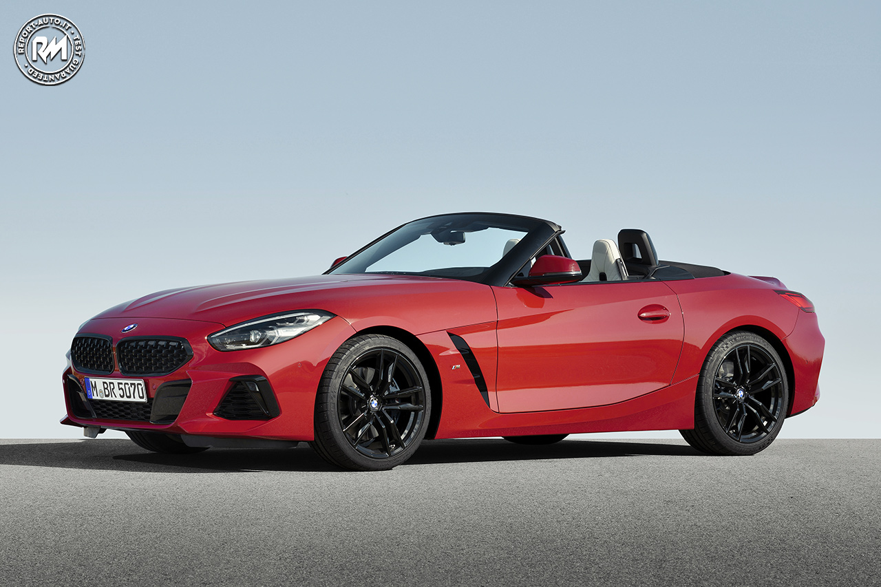 Presentata A Pebble Beach La Nuova Bmw Z4 M40i First Edition Reportmotori It