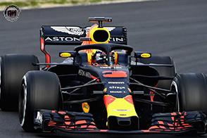 Daniel Ricciardo con il Team Renault F1 a partire dal 2019