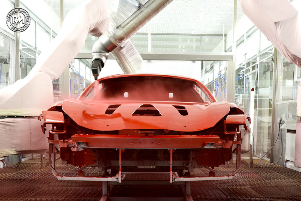 ferrari Low Cure clear coats