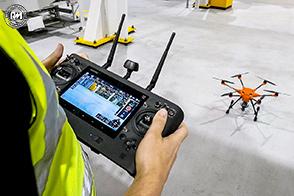 Ford sperimenta l'utilizzo di droni sulle linee di produzione