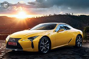 Esclusività e tecnologia per la Lexus LC Yellow Edition