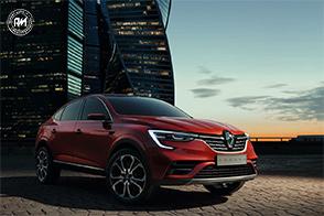 Renault svela in Russa la sua nuova showcar: la Arkana
