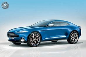 Dall'Inghilterra con furore il nuovo SUV Aston Martin DBX