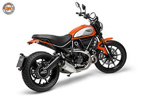 Comfort e sicurezza per il nuovo Ducati Scrambler Icon