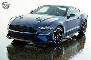 Un V8 da 5 litri per la Ford Mustang Bullit Kona Blue