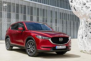 Nuove motorizzazioni ed allestimenti per la Mazda CX-5