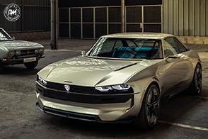 La rivoluzionaria Peugeot e-LEGEND Concept