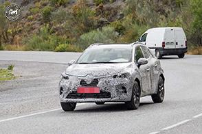 Nuovo stile e tecnologia per la futura Renault Captur