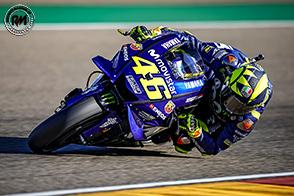 Ottava posizione per Valentino Rossi ad Aragon