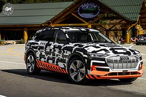 Anteprima mondiale della Audi e-tron