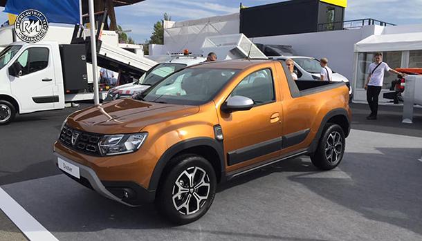 Dacia Duster Pickup 2018