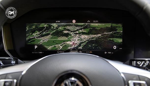 Bosch Innovision Cockpit Volkswagen Touareg