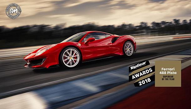 Ferrari 488 Pista Supercar of the Year