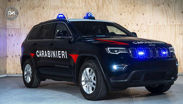 Jeep Grand Cherokee Arma dei Carabinieri