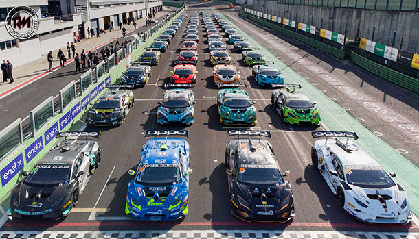 Lamborghini Super Trofeo 2019