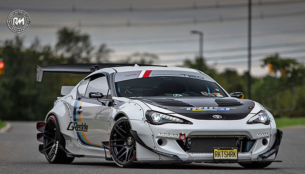 Toyota GT86 by Rocket Bunny