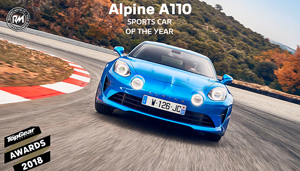 Alpine A110 TopGear