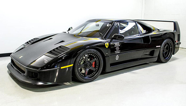 Ferrari F40 Gas Monkey Garage