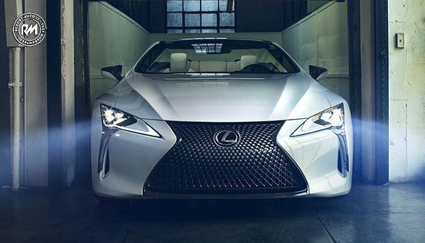 Lexus LC Convertibile Concept