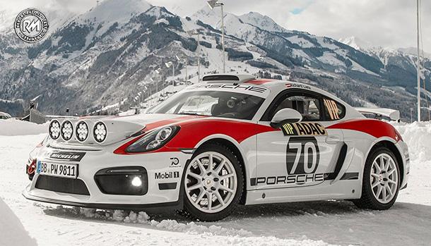 Porsche 718 Cayman GT4 Rallye Concept
