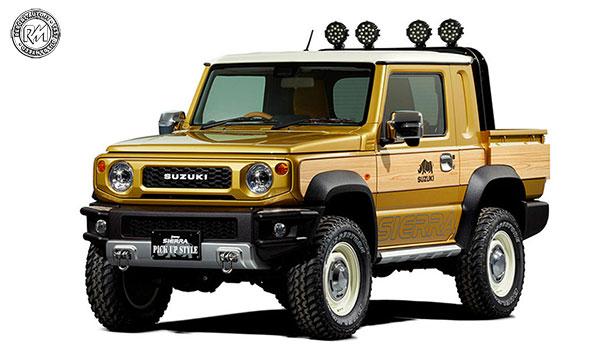 Jimny Sierra Pickup Style