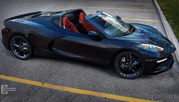 Chevrolet Corvette C8 Targa