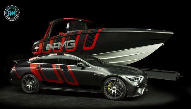 Mercedes-AMG e Cigarette Racing 41 AMG Carbon Edition