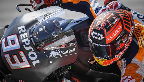 Marc Marquez test Sepang Motogp 2019