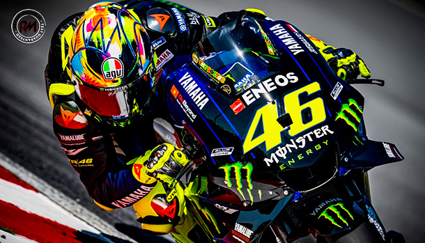 valentino rossi winter test 2019