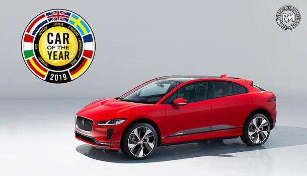 Jaguar I-Pace European Car of the Year 2019