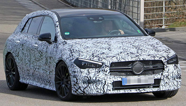 Nuova Mercedes-AMG CLA 35 Shooting Brake